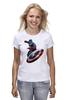 "Футболка классическая ""Капитан Америка / Captain America"" - мстители, капитан америка, captain america, kinoart, киноарт"