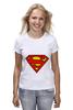 "Футболка (Женская) ""Supergirl"" - comics, superman, dc"
