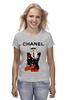 """Футболка классическая """"Chanel"""" - прикол, юмор, духи, бренд, fashion, коко шанель, brand, coco chanel, perfume, karl lagerfeld"""
