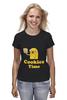 "Футболка (Женская) ""Jake cookies "" - adventure time, время приключений, jake cookies"