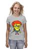 "Футболка (Женская) ""Chucky Killer"" - убийца, spongebob, чаки, chucky"