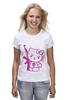 "Футболка классическая ""Hello Kitty AK-47"" - hello kitty, ak 47, angry kitty"
