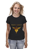"Футболка (Женская) ""Bon Jovi"" - logo, hard rock, bon jovi, бон джови"