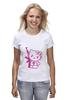 "Футболка (Женская) ""Hello Kitty AK-47"" - hello kitty, хелло китти"