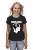 "Футболка (Женская) ""Brain & WOT "" - мозг, games, игры, игра, game, brain, логотип, world of tanks, танки, wot"
