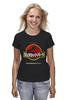"""Футболка (Женская) """"Jurassic Park / Парк Юрского Периода"""" - динозавры, иероглифы, парк юрского периода, jurassic park, kinoart"""