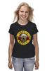 "Футболка (Женская) ""Guns'n'Roses t-shirt"" - old school, guns n roses, axl rose, ганз н розес, аксель роуз"