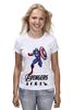 """Футболка (Женская) """"Капитан Америка"""" - мстители, avengers, капитан америка, captain america"""