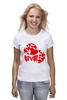 """Футболка (Женская) """"love"""" - сердце, сердечко, love is"""