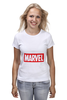 "Футболка (Женская) ""Marvel"" - комиксы, классная, крутая, marvel, spider man, марвел, железный человек, iron man, капитан америка, локи"