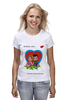 "Футболка классическая ""love is..."" - любовь, love is"