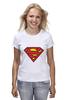 """Футболка (Женская) """"Superman"""" - супермен, superman, supermen, супергерои"""