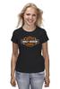 "Футболка (Женская) ""Harley Davidson"" - мото, harley davidson, чоппер, харлей, kinoart"