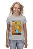 """Футболка классическая """"Simpsons / Симпсоны"""" - симпсоны, the simpsons, kinoart, мэгги, maggie"""