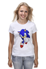 """Футболка классическая """"Sonic"""" - соник, sonic, sega"""
