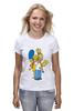 "Футболка (Женская) ""Simpsons Family"" - симпсоны, the simpsons"