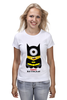 """Футболка классическая """"Minion Batman                        """" - смешные, приколы, мультики, comics, стиль, batman, супергерои, dc, миньоны, superhero"""