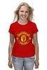 "Футболка классическая ""Manchester United 1878"" - club, london, football, uk, манчестер юнайтед, mu, manchester united, футбольный клуб, fc, manutd"