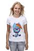 "Футболка (Женская) ""Rainbow Dash"" - pony, mlp, пони, magic, friendship"