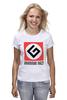 "Футболка (Женская) ""Grammar Nazi"" - grammar nazi, русский язык"