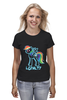 "Футболка (Женская) ""MLP Neon Rainbow Dash"" - pony, mlp, magic, loyalty, friendship"