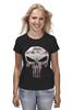 "Футболка классическая ""The Punisher"" - skull, череп, касл, marvel, антигерой, палач, punisher, каратель, фрэнк касл"