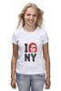 "Футболка классическая ""Escape from New York / Побег из Нью Йорка"" - new york, ny, нью йорк, курт рассел, побег из нью йорка"