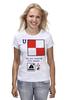 "Футболка классическая ""Uniform (U), флаг МСС (eng) for girl"" - море, флаг, яхтинг, мсс, boatstyle"