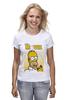 "Футболка (Женская) ""Simpsons / Симпсоны"" - гомер, homer, симпсоны, the simpsons, kinoart"