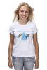 """Футболка (Женская) """"Rainbow Dash 2"""" - pony, mlp, my little pony, пони"""