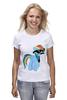"Футболка (Женская) ""20 % cooler"" - pony, rainbow dash, mlp, пони, ponies"