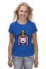 """Футболка (Женская) """"Принцесса Бубльгум """" - adventure time, время приключений, бубльгум, принцесса бубльгум, princess bubblegum"""