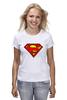 """Футболка классическая """"superman"""" - супермен, superman, dc"""