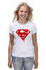 """Футболка (Женская) """"Superman Death Of Bloody"""" - кровь, superman, фильм, blood, супермэн"""
