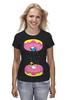 """Футболка классическая """"Simpsons x Portal"""" - симпсоны, гомер симпсон, пончик, the simpsons, donut"""