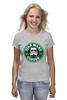 """Футболка классическая """"Star Wars Coffee"""" - star wars, coffee, starbucks, штурмовик, storm trooper"""