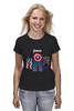 """Футболка (Женская) """"Avengers"""" - comics, marvel, мстители, avengers"""