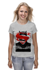 "Футболка классическая ""Batman vs Superman"" - супермен, batman, superman, бэтмен, dc"