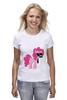 "Футболка (Женская) ""My Little Pony - Пинки Пай (Pinkie Pie)"" - pony, mlp, пони, пинки пай"