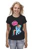 """Футболка классическая """"my little pony"""" - радуга, my little pony, пони, аниме, для детей"""