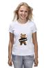 "Футболка (Женская) ""Ted PSS"" - арт, bear, медведь, ted, в любви не без медведя"