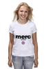 "Футболка (Женская) ""merc london"" - спорт, merc, merc london, мерк"