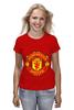 """Футболка классическая """"Manchester United"""" - football, uk, манчестер юнайтед, футбольный клуб"""
