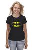 """Футболка (Женская) """"Бэтмен"""" - комиксы, batman, бэтмен, марвел"""