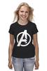 """Футболка (Женская) """"Мстители (The Avengers)"""" - hulk, marvel, мстители, железный человек, iron man, халк, the avengers"""