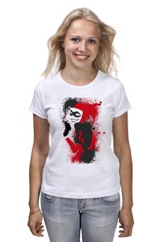 "Футболка классическая ""Harley Quinn"" - harley quinn, dc comics, villain, suicide squad"