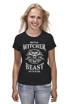 """Футболка классическая """"Ведьмак"""" - игры, ведьмак, witcher, геймерские, для геймеров"""