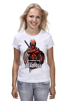 """Футболка классическая """"Дэдпул (Deadpool)"""" - дэдпул"""