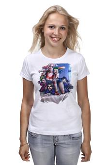 """Футболка классическая """"Harley Quinn Family"""" - любовь, юмор, дети, семья, харли квинн"""
