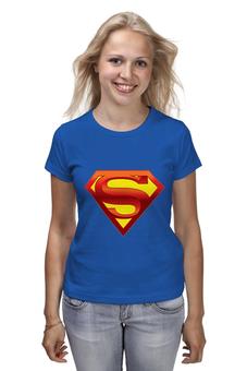 """Футболка классическая """"супермен"""" - супермен"""